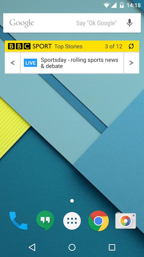 BBC Sport - screenshot