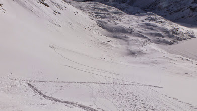 Photo: Our skinning track is ready to be destroyed