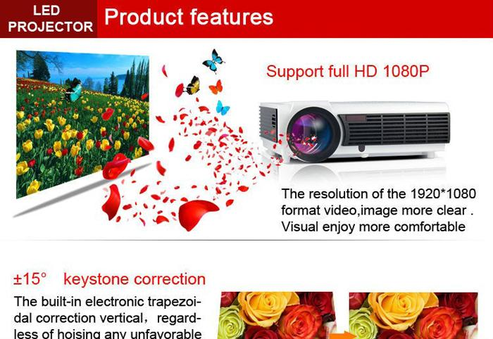 Projecteur LED Android WIFI Video HDMI USB 1280x800 Full HD 1080P 3D Home Cinéma www.avalonlineshopping.com STYRTH.jpg