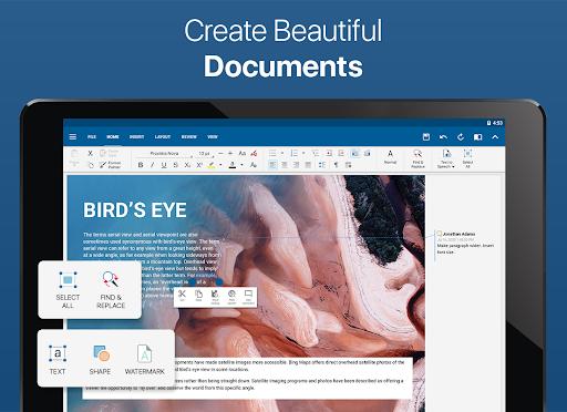 OfficeSuite - Office, PDF, Word, Excel, PowerPoint screenshot 7