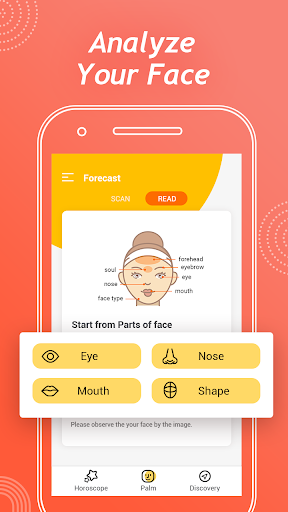 Face Secret – Aging Face,Face Scanner,Palm Reading - screenshot