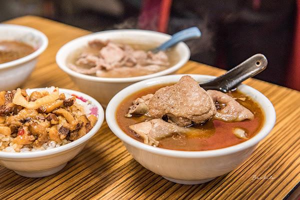 信義松山-施家麻油腰花 濃香進補麻油雞,好吃滷肉飯、瘦肉薑絲清湯/台北老店小吃