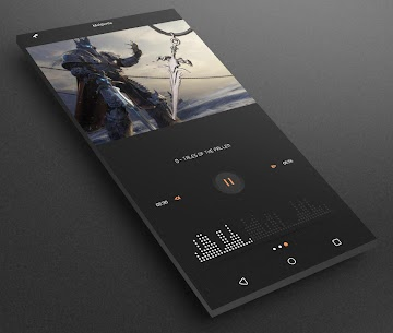 Gray Bloom XIU for Kustom/klwp 9.5 Latest APK Free Download 5