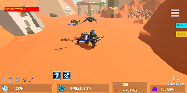 Mini Space Marine(Semi Idle RPG) MOD (Unlimited Money) 3