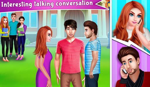 Nerdy Boy's First Love Crush game story apkdomains screenshots 1