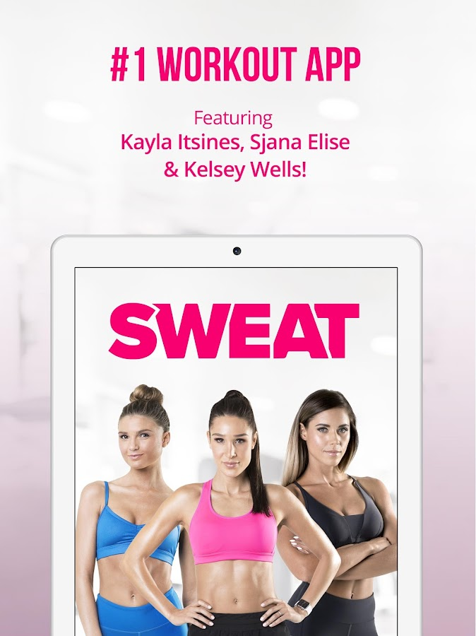 Sweat: Kayla Itsines Fitness- screenshot