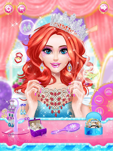 Princess dress up and makeover games 1.0 7