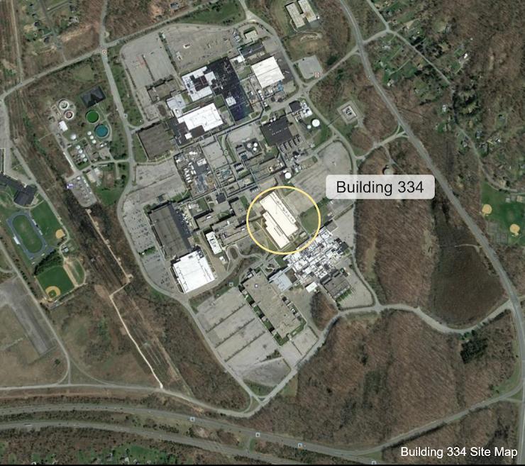 Building 334 Site Map