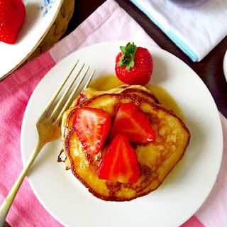 Strawberry Buttermilk Pancakes Recipes