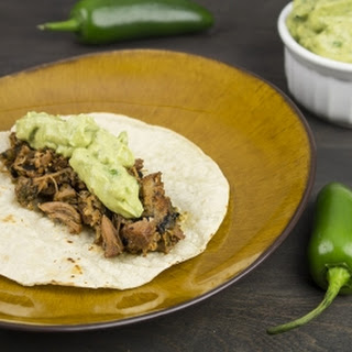 Roasted Poblano Pork Tacos.