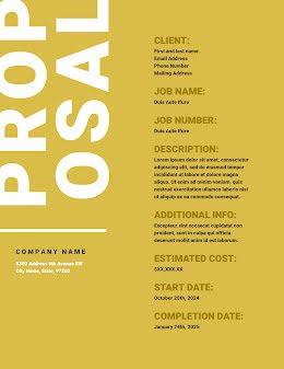 2025 Proposal - Proposal item