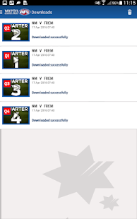 Watch AFL Global Pass- screenshot thumbnail