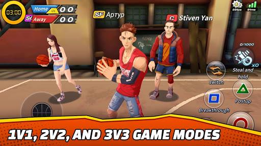 Télécharger Basketball Crew 2k19 - streetball bounce madness!  APK MOD (Astuce) screenshots 3