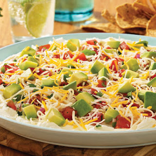 Layered Mexican Spread.
