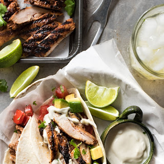 Mexican Grilled Chicken Tacos.