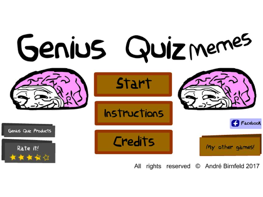 Genius Quiz Memes 1.0.1 screenshots 5