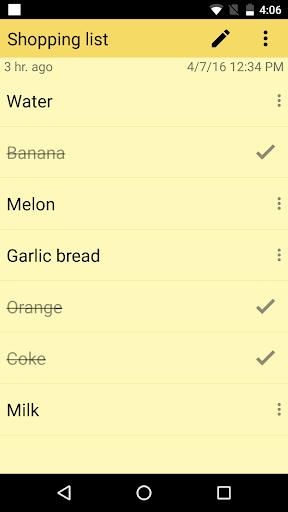 ColorNote Notepad Notes 4.0.7 screenshots 4