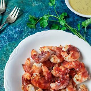 Shrimp & Prosciutto with Smoky Honey-Mustard Sauce Recipe