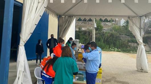 Olula del Río acoge con éxito la vacunación de más de 7.000 personas