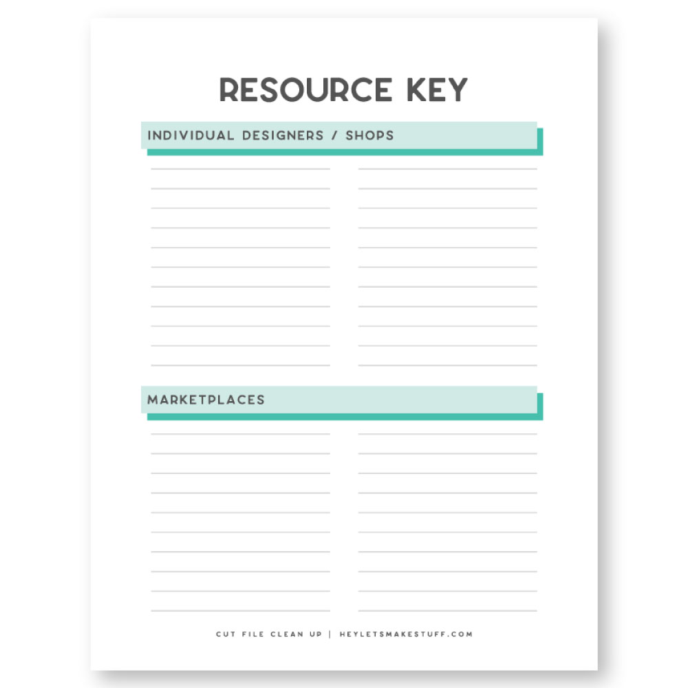 Resource Key
