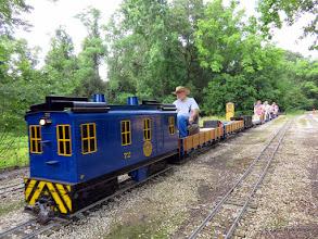 Photo: The long train of George Leventon     HALS Public Run Day 2015-0516 RPW