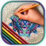 Stress Relief Coloring Pages icon