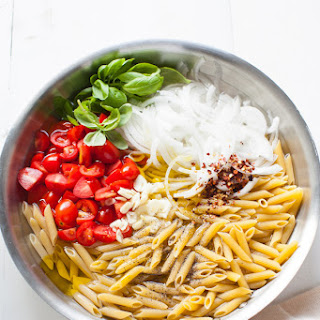 Penne with Tomato & Basil.