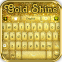 Gold Shine - Theme for keyboard icon