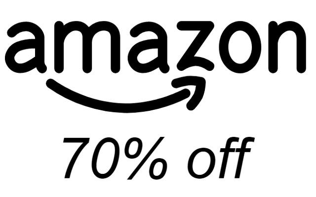 Amazon's 70% Off