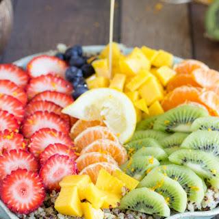 Tropical Quinoa Salad with a Tangy Citrus Dressing