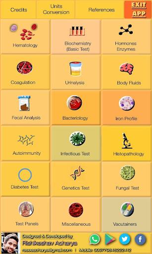 Lab Test Reference Range (Free & Offline) Apk 2