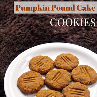 Grain-Free Pumpkin Pound Cake Cookies
