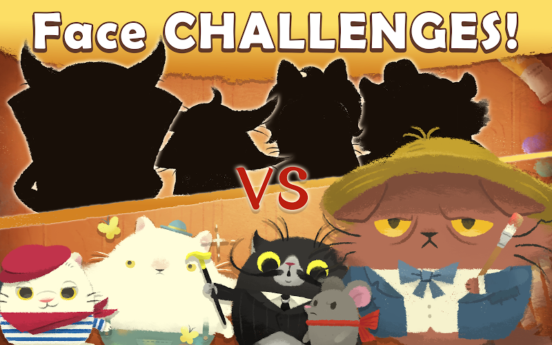 Cats Atelier -  A Meow Match 3 Game Screenshot 4