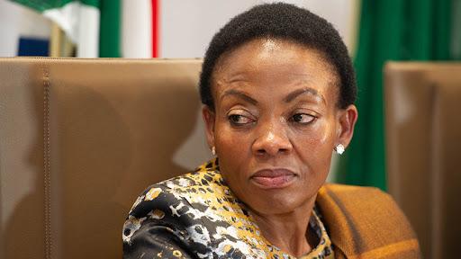 Deputy minister of communications and digital technologies Pinky Kekana. (Photo credit: GCIS)