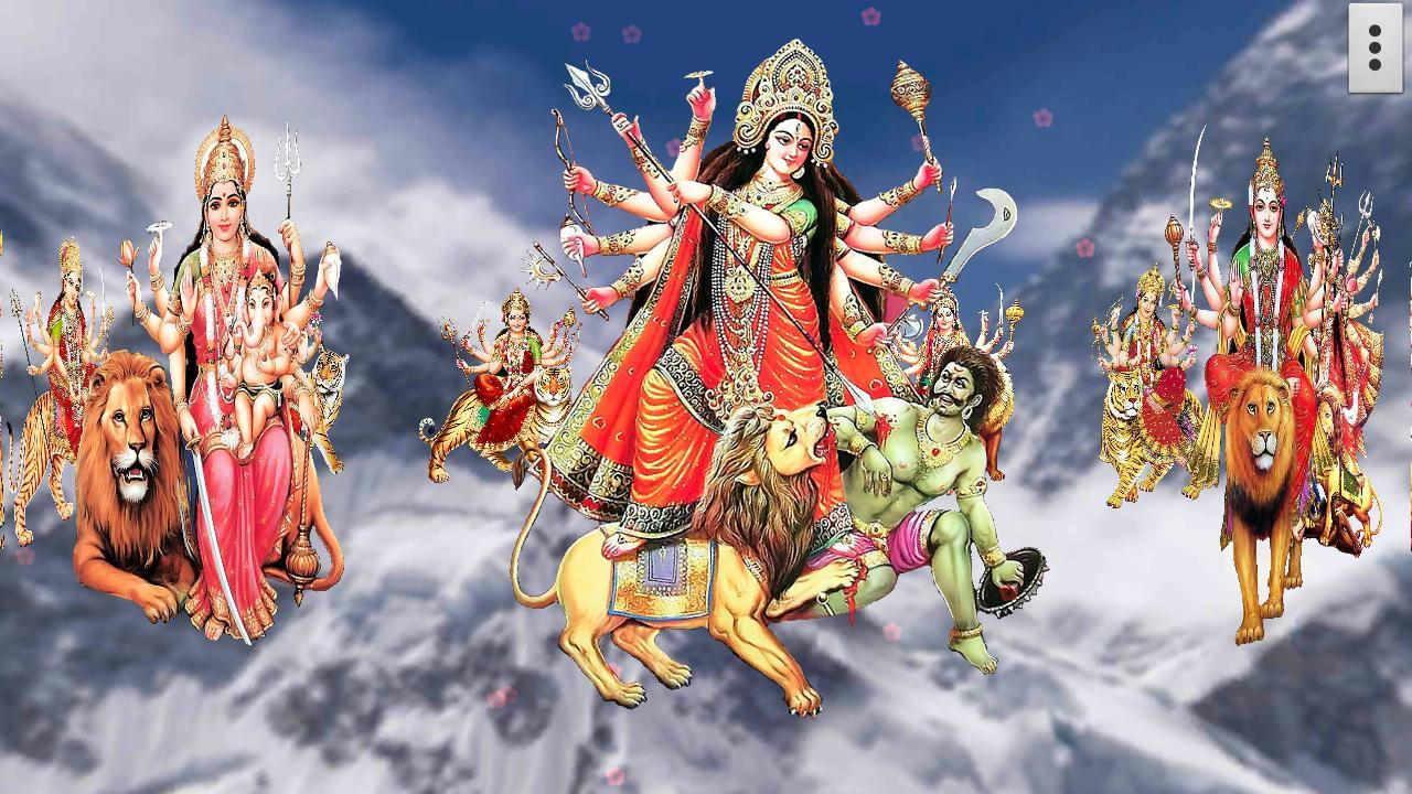 4d maa durga live wallpaper android apps on google play