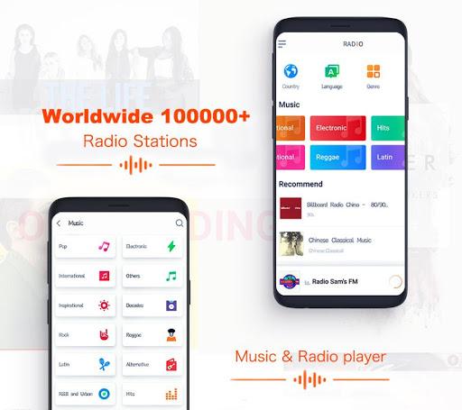 Smart Radio FM - Free Music, Internet & FM radio 1.7.7 screenshots 2