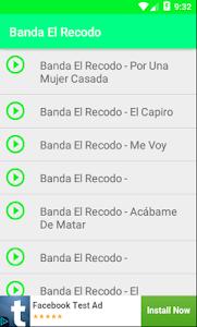 Banda El Recodo Musica screenshot 0