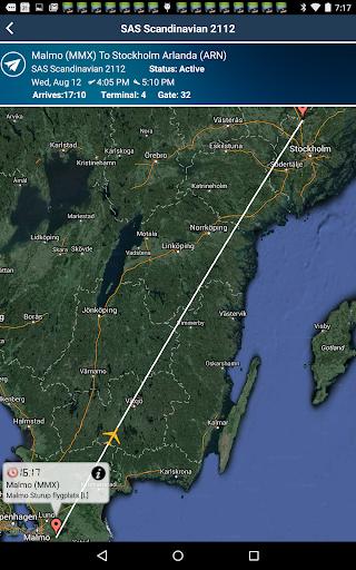 Malmo Sturup Airport MMX Radar
