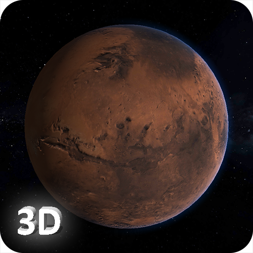 Mars 3D Live Wallpaper app for Android