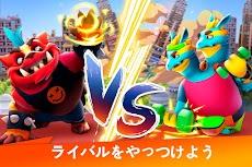 Monsters with Attitude: モンスターPVPバトル! 町をスマッシュして破壊!のおすすめ画像3