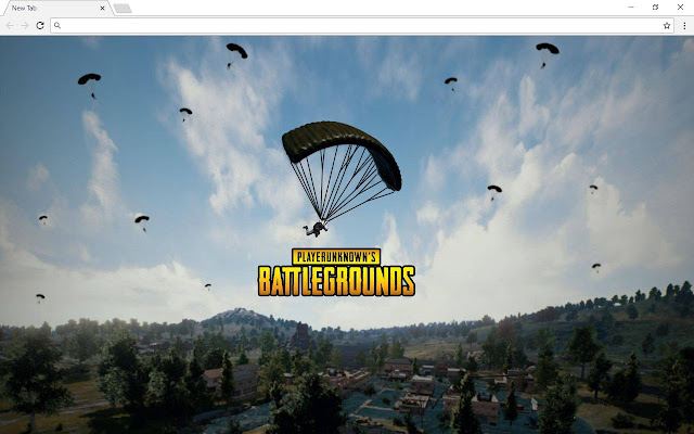 Inspired PUBG Themes - New Tab - Extore Space