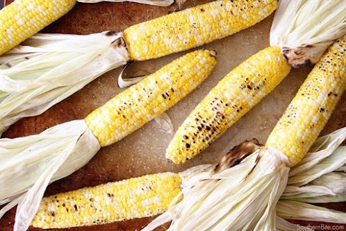 Amazingly Easy Grilled Corn