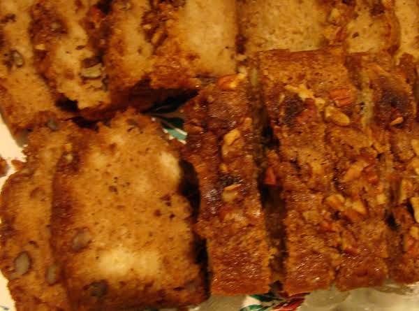 Spiced Applesauce Bread Recipe