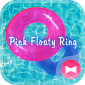 Cute Wallpaper Pink Floaty Ring Theme
