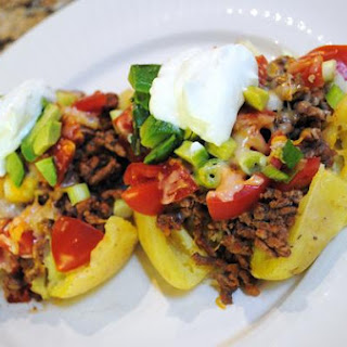 Mexican Stuffed Potatoes