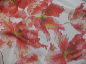 Photo: Ткань:Шифон натуральный шелк ш.140см.цена 2900 руб.