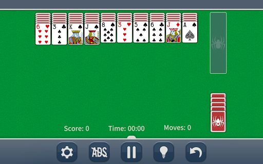 Spider Solitaire Classic apkpoly screenshots 7