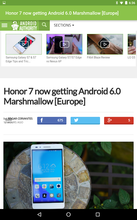 andNews: Android News- screenshot