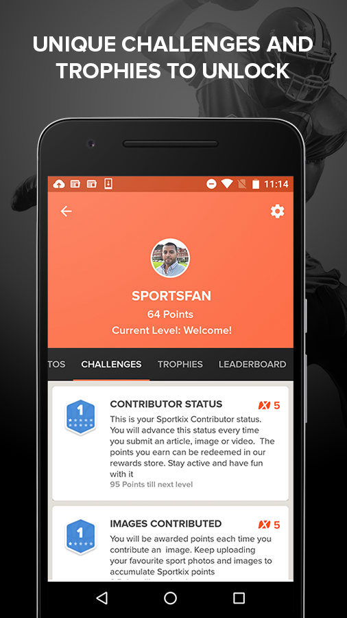 Sportkix- screenshot
