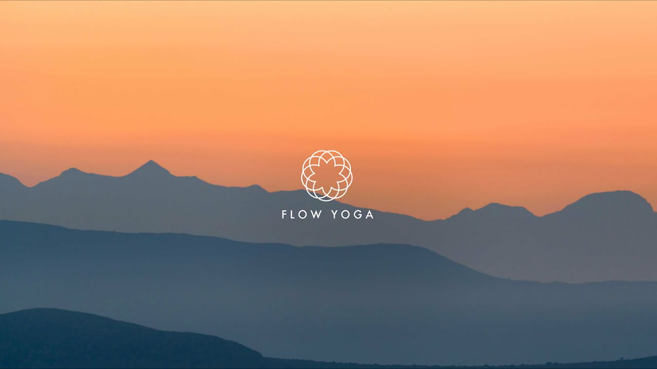 Flow Yoga Mountains - YouTube Channel Art Template